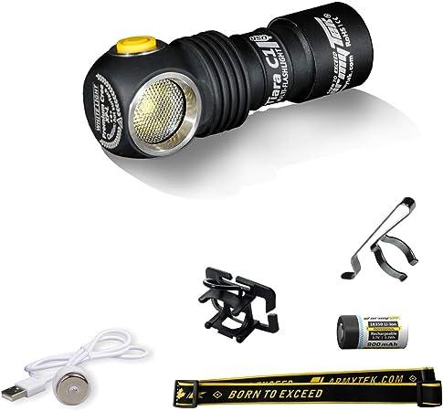 18350 Batterie Armytek Premier C1 Aimant USB Lampe de poche