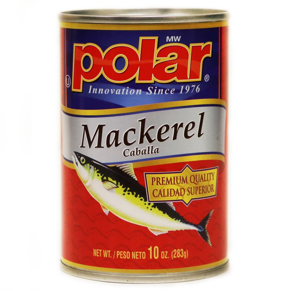 MW Polar Foods Jack Mackerel, 10-Ounce (Pack of 24)