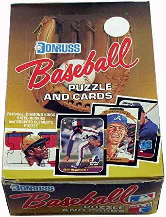1987 Donruss The Rookies Puzzle and Cards FREE SHIPPING