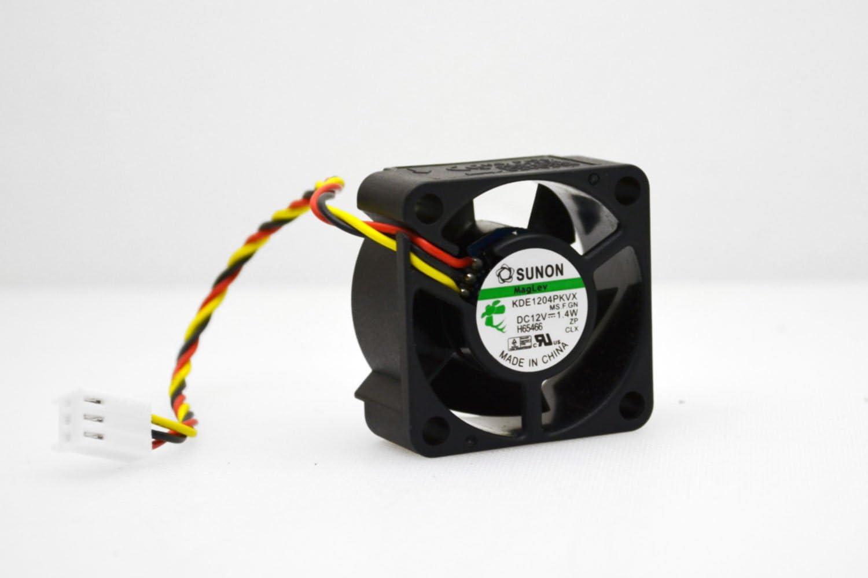 Sunon KDE1204PKVX 4020 12V 1.6W For 2950 switch server inverter cooling fan