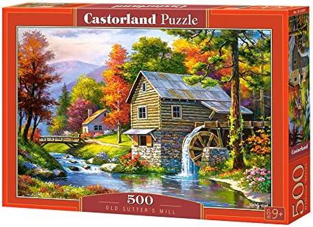 Castor Pays B de 52691/Old sutterS Mill Puzzle 500/pi/èces