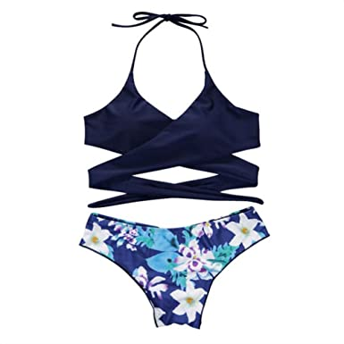 dacd322a45 elepbaba New Hot Sexy Cross Brazilian Bikinis Women Swimwear Beach Bathing  Suit Push up Bikini Set