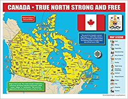 Canada Map For Students Canada Map for Students Pack (30) (Canada Experience): Marsh