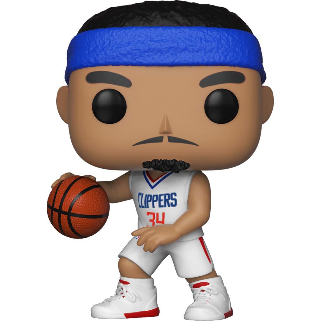 : NBA x POP Compatible PET Plastic Graphical Protector Bundle BCC9UE91 Clipper #049 // 34430 - B Funko Tobias Harris Sports Vinyl Figure /& 1 POP