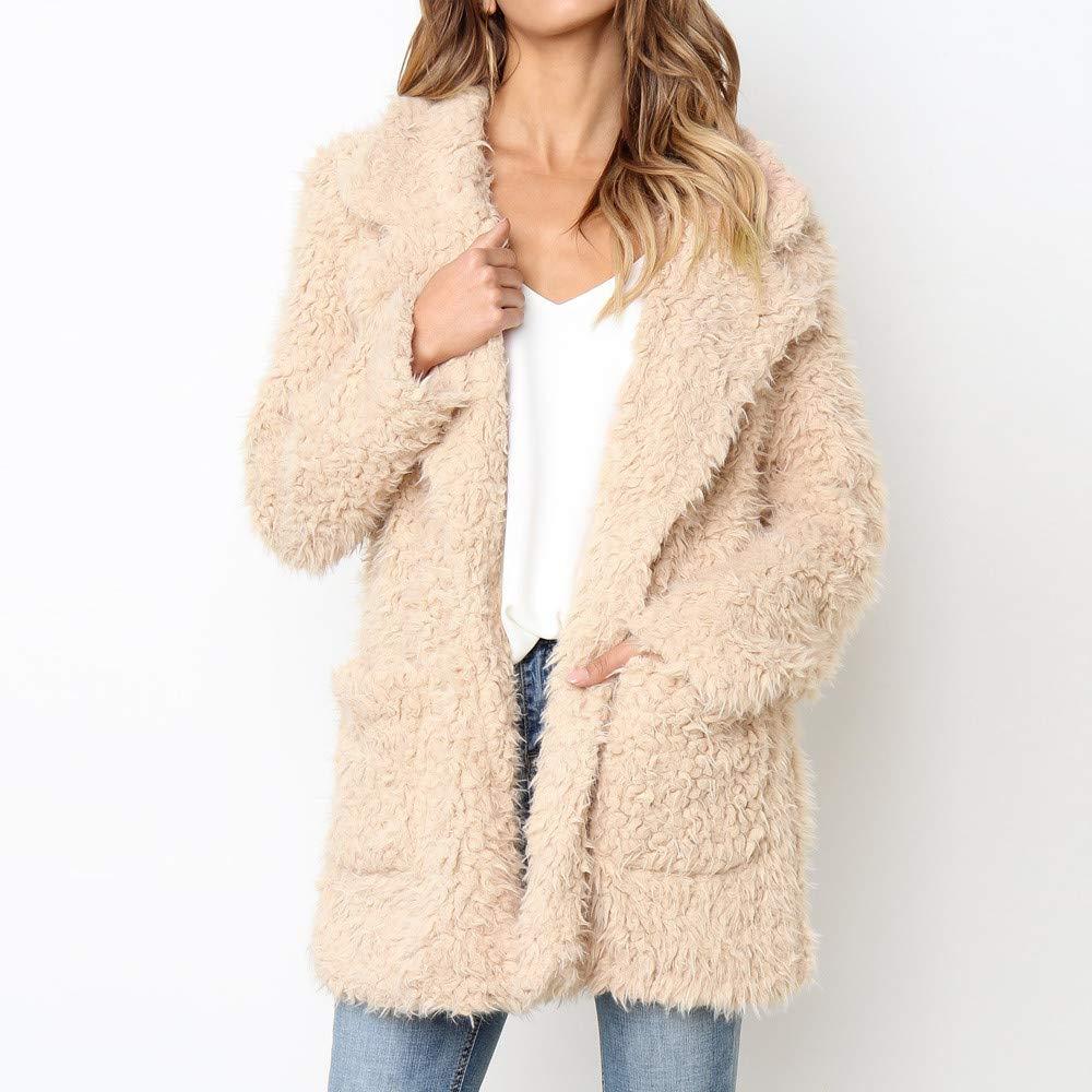 Linlink Chaqueta Informal de la Moda Mujer Invierno Caliente Parka Outercoat Abrigo: Amazon.es: Ropa y accesorios