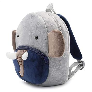 Amazon Com Toddlers Soft Plush Elephant Backpack Kids Small Cute