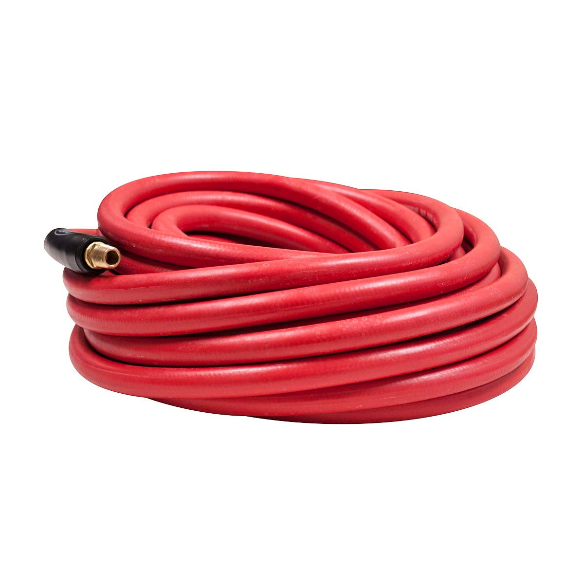 HRE3850RD2 Legacy 1//4 Fittings Red Rubber x 50 ft Workforce Air Hose 3//8 in