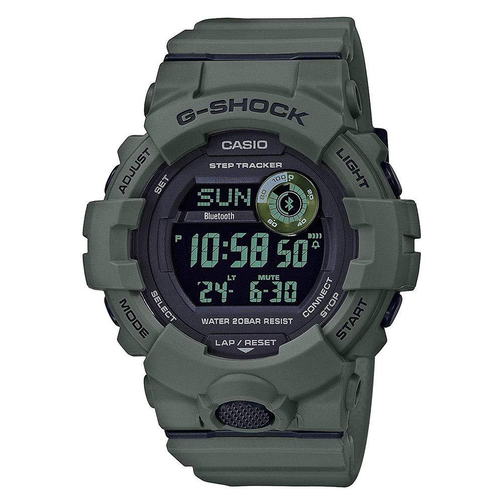 Men's Casio G-Shock Green Power Trainer Watch GBD800UC-3