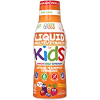 Children's Liquid Multivitamin by Feel Great Vitamin Co. (32 Day Supply) | Daily...