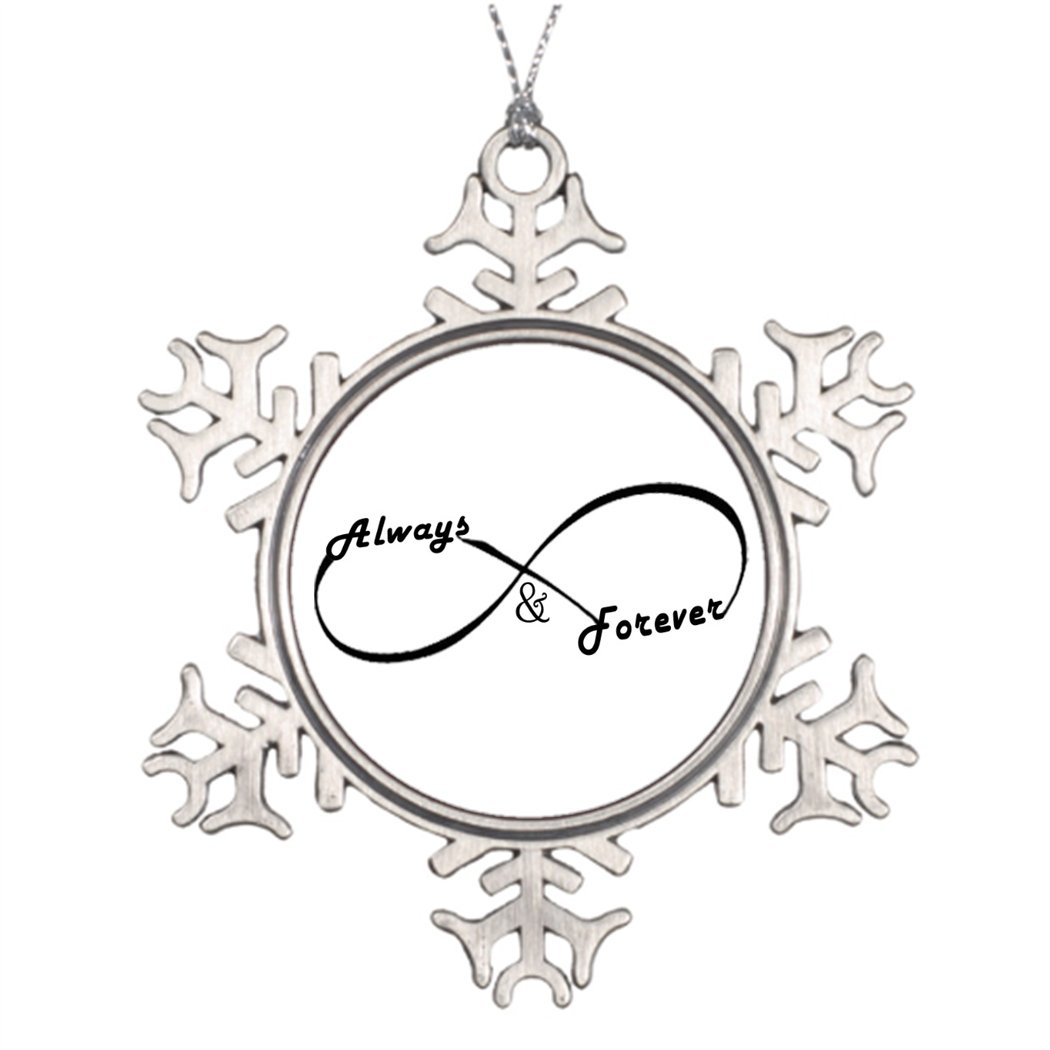 Butter Tisse Ideas For Decorating Christmas Trees Always and Forever Infinity sign Christmas Home Decorations