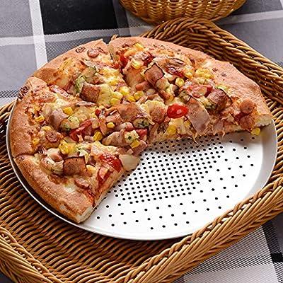 Linana Bandeja de Pizza para el Horno Bandeja de Pizza Bandeja ...