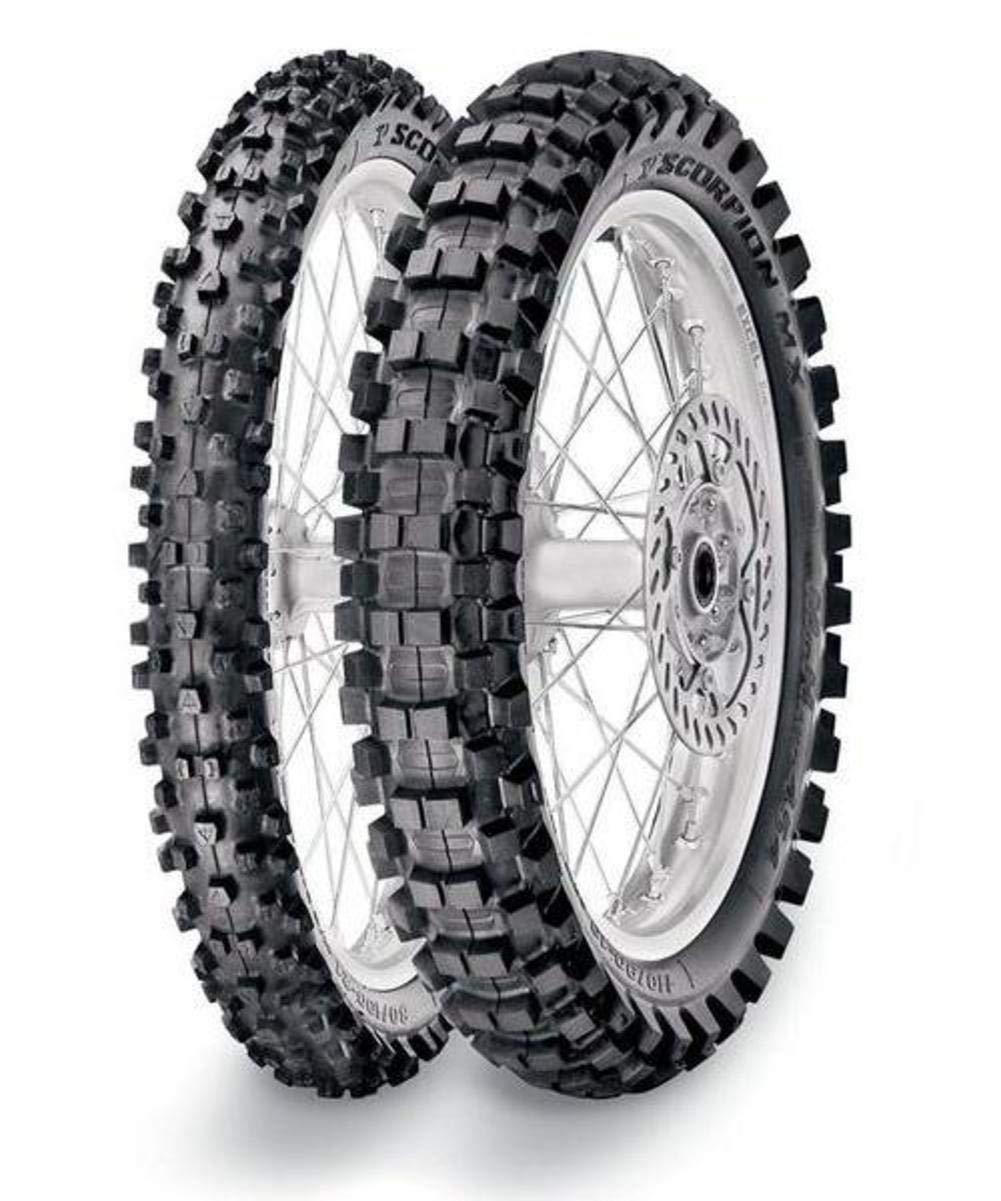 Pirelli Scorpion MX Mid Hard 554 Front Tire (80/100-21) 4333046091