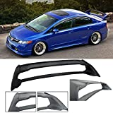 honda civic wing spoiler - Fit 2006-2011 Honda Civic Sedan 4 door / 06-11 Acura CSX 4 door Mugen RR ABS Plastic Rear Trunk Wing Spoiler FD2 FA2
