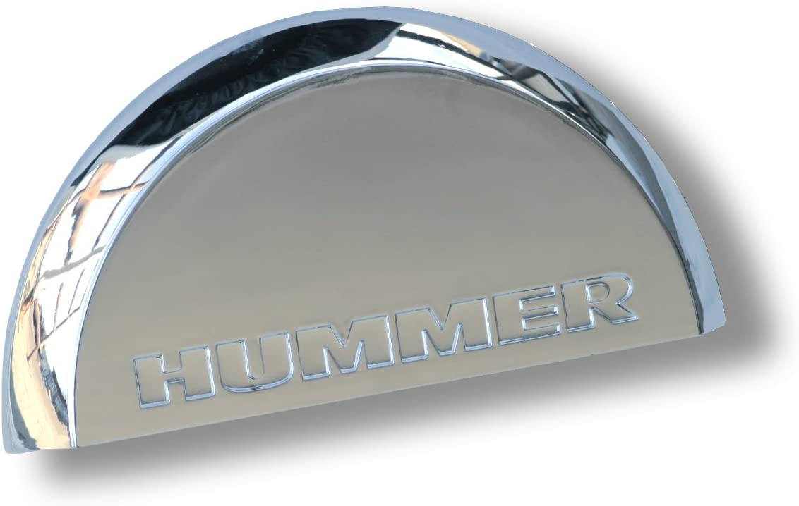 Chrome License Plate Dome Light Cover 2005-2010 Hummer H2