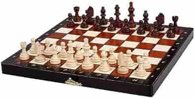 Yyqx Ajedrez Ajedrez Mesa de Madera Chinos Juegos de ajedrez Plegable magnético Regalos de cumpleaños de la Pieza de ajedrez de Navidad Premium Entretenimiento Juego de Mesa ajedrez magnetico: Amazon.es: Hogar