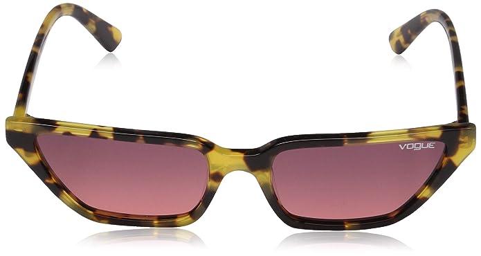Amazon.com: Vogue Mujer anteojos de sol acetato, Marrón: Shoes