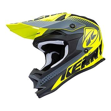 Kenny Performance niños de motocross Casco 2018 – mate amarillo neón, amarillo fluorescente