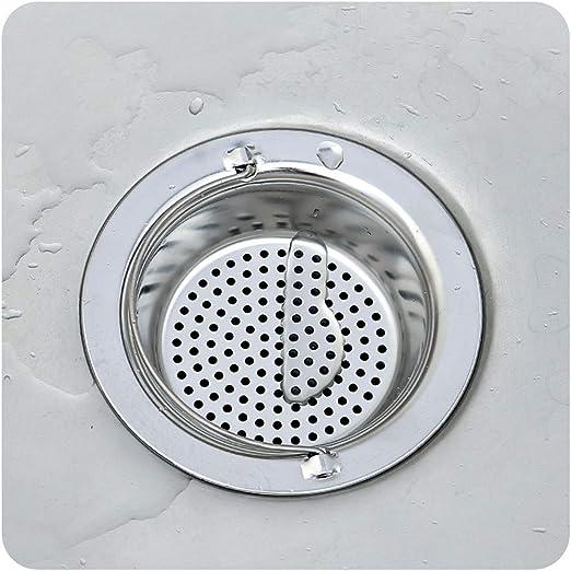 Yardwe /Évier de cuisine en acier inoxydable avec passoire et filtre Sink pour cuisine 11 x 8,2 x 9,5 cm