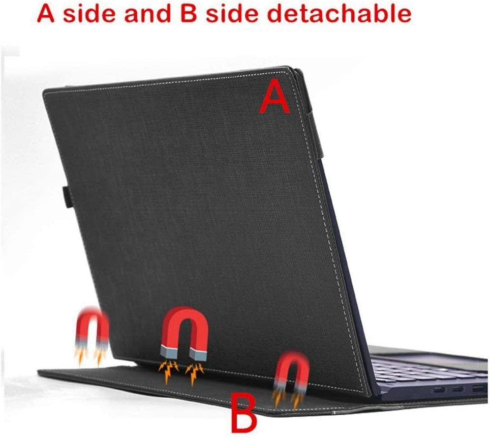 Heycase Compatible with Lenovo Yoga 530 14 inch Case,PU Leather Folio Stand Protective Hard Shell Case Type Keyboard Cover Compatible with Lenovo Yoga ...