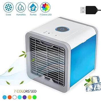 Klimageräte & Heizgeräte Mini Luftkühler Klimageräte Klimaanlage Usb Mobil Luftbefeuchter Ventilator Weiß Bürotechnik