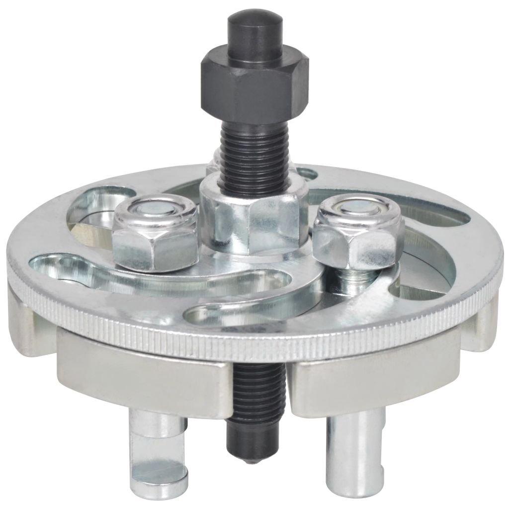 Festnight Riemenscheiben-Abzieher Universal Verstellbar Kohlenstoffstahl 42-82 mm