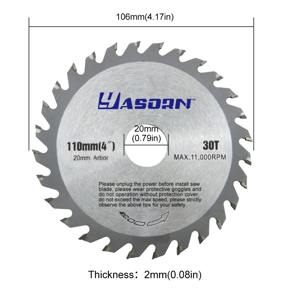 Yasorn 4 inch 28 tooth alloy wood cutting wheel circular saw blade yasorn 4 inch 28 tooth alloy wood cutting wheel circular saw blade 1pcs amazon greentooth Choice Image