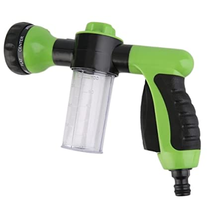 Superior UEB Garden Hose Nozzle/Sprayer, Portable High Pressure Foam Car Washer  Water Gun,