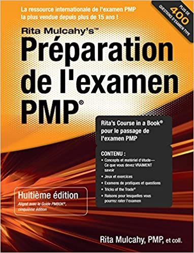 Pmp exam prep 8th edition french edition rita mulcahy rmc pmp exam prep 8th edition french edition french 8th edition fandeluxe Image collections