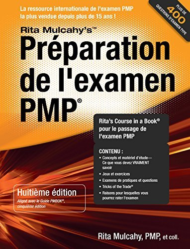 PMP Exam Prep 8th Edition (French Edition) (Rmc Publications compare prices)