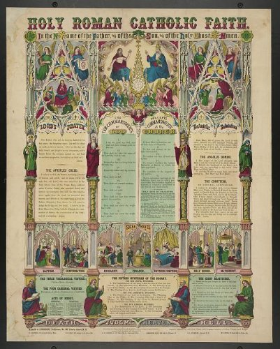 Photo: Holy Roman Catholic Faith,Lord's Prayer,Apostle's Creed,Ten (Catholic Art)