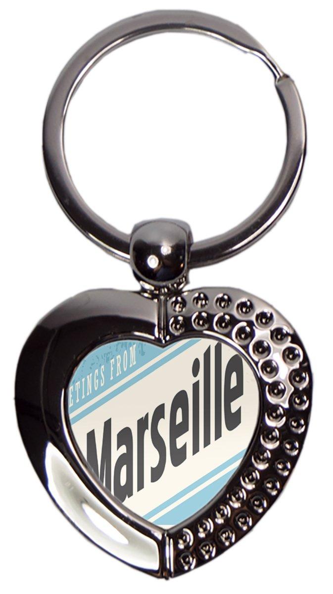 Leotie GmbH Llavero Pasión Viajes Ciudad Marsella Francia ...