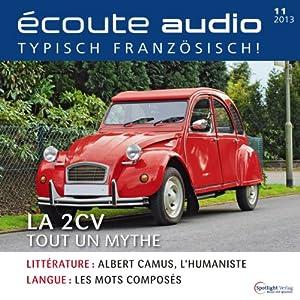Écoute audio - La 2CV. 11/2013 Audiobook