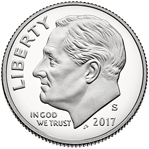 Deep Cameo Proof Roosevelt Dime - 2017 S Silver Roosevelt Dime Dime Proof