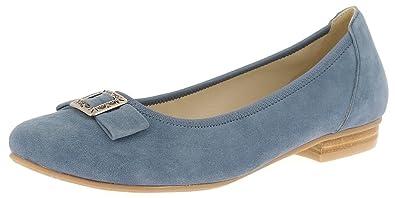 4c18af9743b26 Andrea Conti 3005707274 Ballerinas Lea mit Schleife - Jeans ...