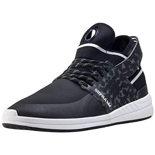 a9aa8d40b797 Supra Mens Skytop V White White Skate Shoes  Amazon.es  Zapatos y  complementos