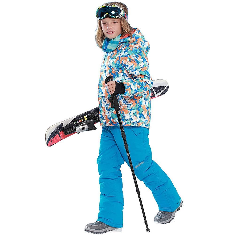 Amazon.com: Chaquetas de esquí para niños, impermeables, con ...