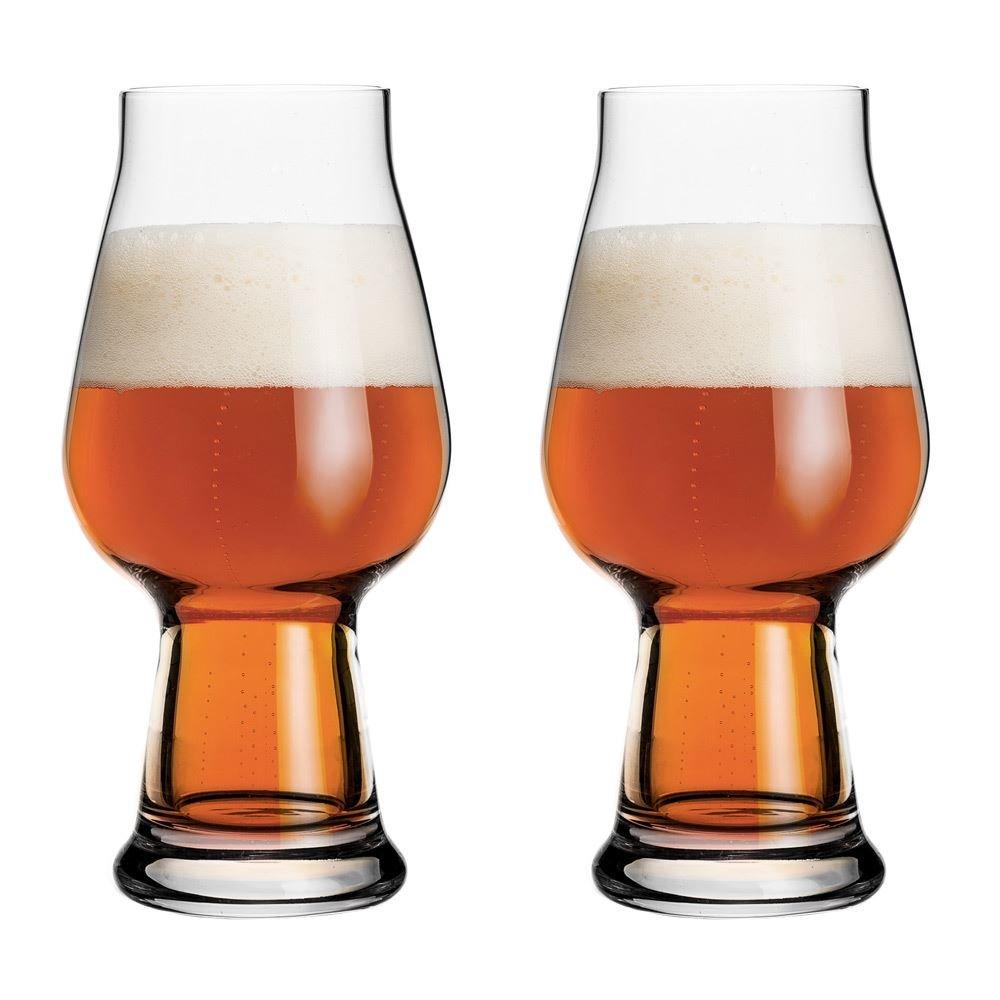 Luigi Bormioli Birrateque, bicchieri per birra IPA Ale, 1 pinta, set di 2 11825-02