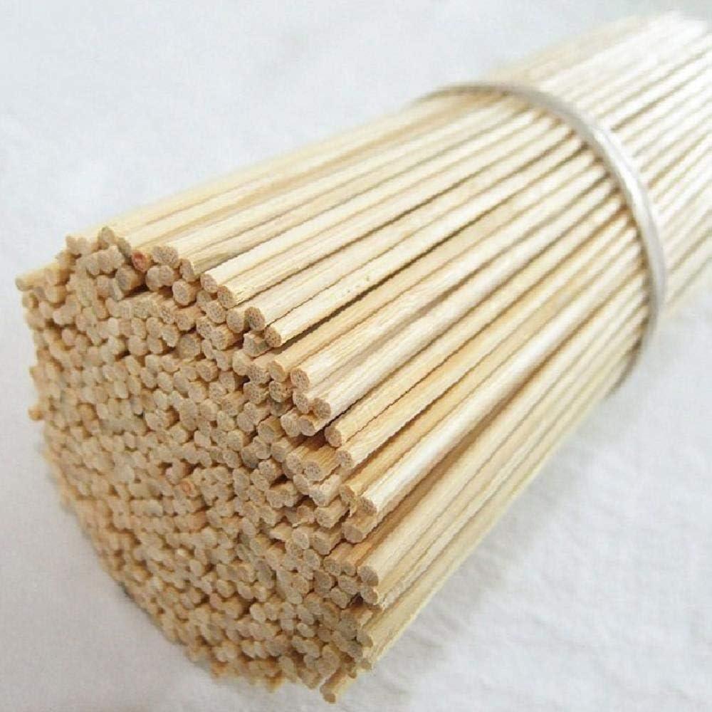 CHENSHUAI100Piezas de Madera de bambú para Palos de Barbacoa Herramienta Bamboo BBQ Party Pinchos Palos Desechables Carne Comida Long Catering Grill Camping