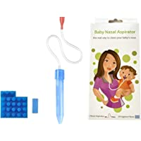 Baby Nasal Aspirator with 24 Hygiene Filters Nose Cleaner The Snot Sucker