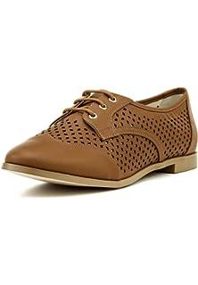 Buffalo London Damen Schuhe Plateau-Pumps Leder Lack-Finish Größe 40 41