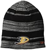 NHL Anaheim Ducks SP17 Heathered Cuffless Beanie, Black, One Size