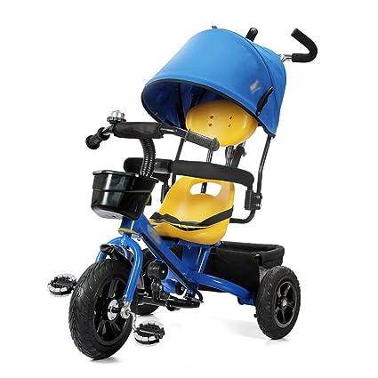 Triciclos Niños 4 en 1 Bicicleta Carrito para Bebés 1-3-5 Bicicleta para