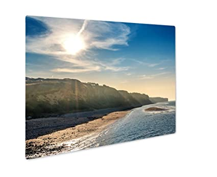 amazon com ashley giclee metal panel print normandy landscape