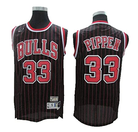 TTHU Camisetas De Baloncesto para Hombre - Bulls 33# Scotty ...