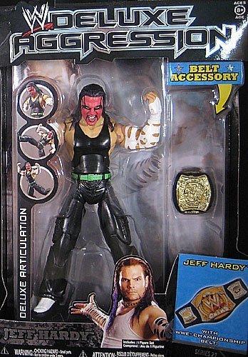 WWE Deluxe Figures #21 Jeff Hardy (Deluxe Wwe Jakks)