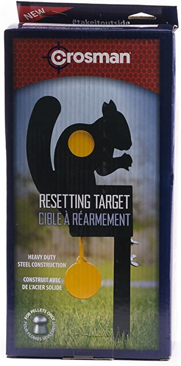 Crosman Squirrel Reset Target, Metal