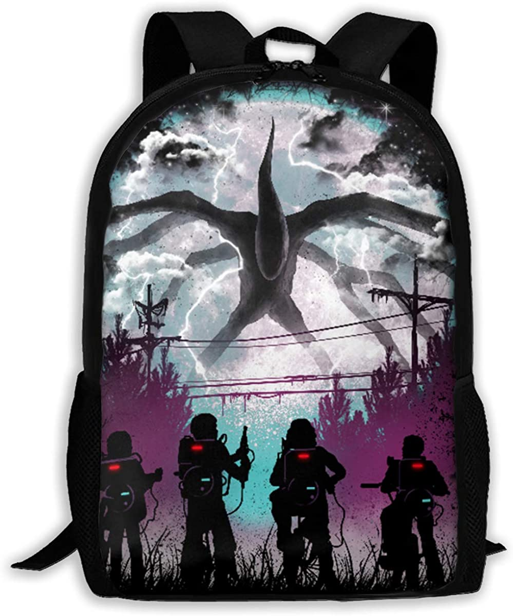 Pattern Backpack, Lightweight Multi-Function College School laptop Bookbag 17 Inches