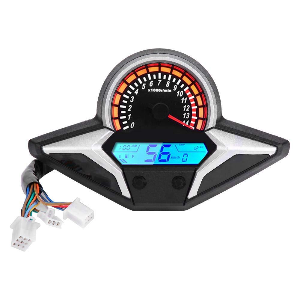 cuentakil/ómetros con sensor de velocidad para CBR250R CBR 250 2011-2013 ajuste directo veloc/ímetro LCD digital modificado KIMISS Veloc/ímetro de motocicleta