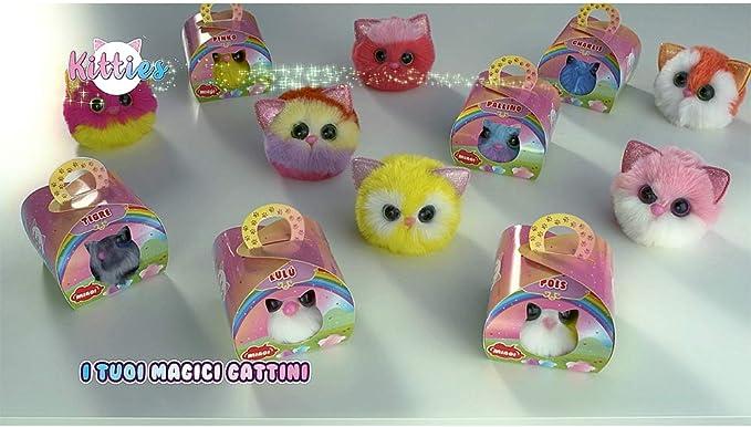 Sbabam 015c-19 Peluche Doki Kitties Collezione Completa