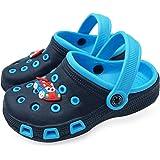 Zuecos Unisex Niños Verano Sandalias de Playa Respirable Antideslizante Piscina Jardín Zapatos Tallas 23-34 EU: Amazon.es: Zapatos y complementos